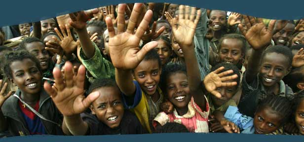 Äthiopien Kinder