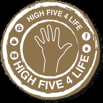 HIGH FIVE 4 LIFE